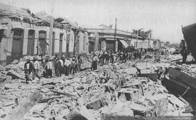 Terremoto de Chillán.