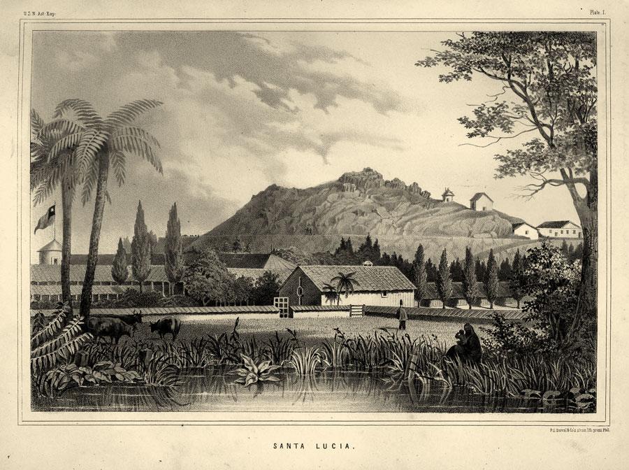 Creación del Observatorio del Cerro Santa Lucía.