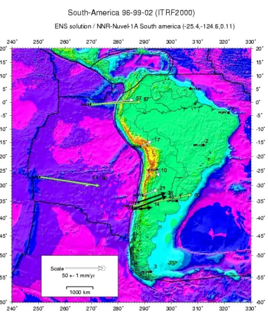Inicio de instalación de antenas GPS en la zona Constitución-Concepción.